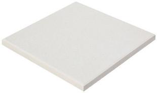 Dalle en pierre reconstituée DECO dim.50x50cm coloris blanc - Gedimat.fr