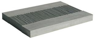 Pas japonais pierre reconstituée CAMARGUE dim.39x30cm ép.3,2cm coloris gris - Gedimat.fr