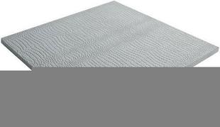 Dalle en pierre reconstituée ETNIK dim.50x50cm ép.1,9cm coloris gris brut - Gedimat.fr