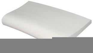 Margelle piscine courbe FOURAS long.50cm larg.31cm rayon.20cm coloris blanc cassé - Gedimat.fr