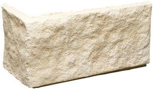 Plaquette d'angle MUROK CLASSIC droite ép.1,5cm long.30cm larg.10cm coloris blanc cassé - Gedimat.fr