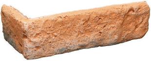 Plaquette d'angle GRANULIT G541 ép.1,1cm larg.5cm long.20,5cm coloris ton rouge - Gedimat.fr