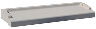 Appui de fenêtre nez arrondi en pierre reconstituée ép.6cm larg.35cm long.2,50m coloris gris - Gedimat.fr