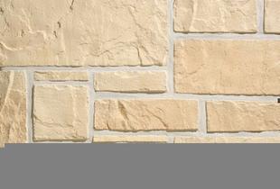Plaquette de parement MUROK RUSTIC ép.1,5cm long.1m larg.68cm coloris jaune pierre - Gedimat.fr