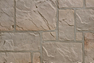 Plaquette de parement MUROK RUSTIC ép.1,5cm long.1m larg.68cm coloris gris - Gedimat.fr
