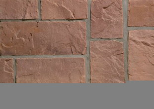 Plaquette de parement MUROK RUSTIC ép.1,5cm long.1m larg.68cm coloris rouge - Gedimat.fr