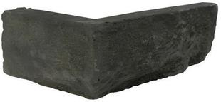 Plaquette d'angle MUROK STRATO long.1,30m coloris gris anthracite - Gedimat.fr