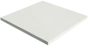 Dalle en pierre reconstituée FOURAS dim.50x50cm coloris blanc - Gedimat.fr