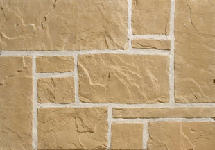 Plaquette de parement MUROK RUSTIC ép.1,5cm long.1m larg.68cm coloris jaune foncé - Gedimat.fr