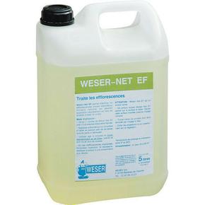 Traitement des efflorescences WESER-NET bidon de 5 litres - Gedimat.fr