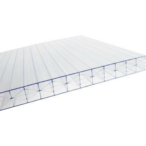 Plaque de polycarbonate claire ép.16mm long.3,00m larg.0,98m - Gedimat.fr
