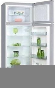 Réfrigérateur / congélateur pose libre ACCESSION 217L haut.1,43m larg.55cm prof.58cm silver - Gedimat.fr