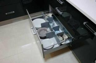organisateur casserolier tiroir mtallique avec baguette hettich - Organisateur De Tiroir