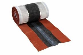 Closoir souple DRYROLL 365 larg.36,5cm long.10m coloris rouge sienne - Gedimat.fr