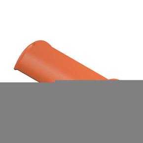 Faîtière demi-ronde de 50 cm ventilée coloris anthracite - Gedimat.fr