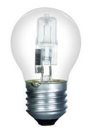 Ampoule halogène sphérique E27 - 18 W - Gedimat.fr
