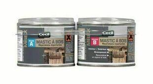 Mastic bois MBEX chêne moyen  - pot 0,2l - Gedimat.fr