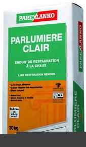 Sous-enduit de restauration à la chaux aérienne PARLUMIERE CLAIR 30KG - Gedimat.fr