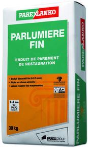 Enduit de parement restauration PARLUMIERE FIN sac de 30kg coloris O34 - Gedimat.fr