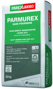 Sous-enduit monocouche lourd PARMUREX SANS POUSSIERE sac de 30kg - Gedimat.fr
