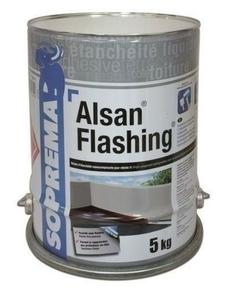 Résine d'étanchéité liquide ALSAN FLASHING Bidon 2.5kg - Gedimat.fr