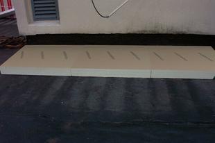 Isolant mousse polyuréthane sous étanchéité EFIGREEN ALU dim.60x60cm ép.50mm - Gedimat.fr
