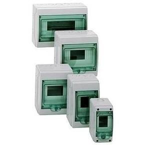 Coffret à équiper étanche mini Kaedra pour appareillage modulaire 6 modules - Gedimat.fr