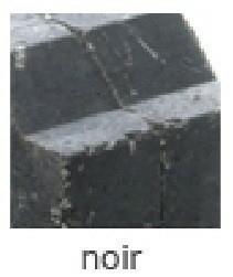 Bordure pavé tambourinée Mambo dim.20x10cm (10x15) coloris noir - Gedimat.fr