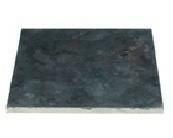 Dalle pierre naturelle Bluestone tambourinée Chine ép.2cm dim.15x15cm coloris bleutée - Gedimat.fr
