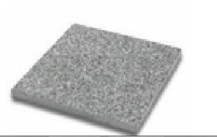 Dalle pierre naturelle Rox Bluestone Bouchardée ép.2,5cm dim.40x40cm coloris bleutée - Gedimat.fr