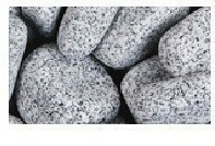 Galets granite ronds 5-10cm coloris gris sac de 25 kg - Gedimat.fr