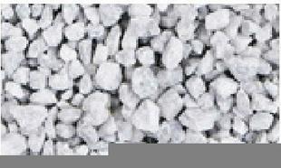 Gravier décoratif en pierre naturelle GLETSJER 8-15mm sac de 25 kg coloris blanc - Gedimat.fr
