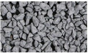 Gravier décoratif en pierre naturelle NERO BASALT 8-11mm sac de 25 kg coloris blanc - Gedimat.fr