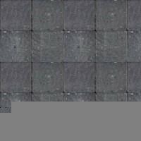Pavé tambouriné IN-LINE ép.6cm dim.20x20cm coloris noir - Gedimat.fr