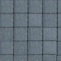 Pavé tambouriné IN-LINE ép.6cm dim.15x15cm coloris pierre bleu - Gedimat.fr