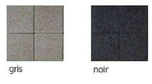 Pavé en béton ép.10cm dim.11x11cm coloris gris - Gedimat.fr