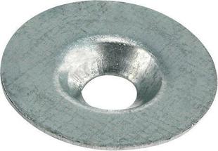 Rondelle cuvette en acier galvanisé CALIBEL diam.ext.25mm pour vis de 6mm - 100 pièces boîte de 100 pièces - Gedimat.fr