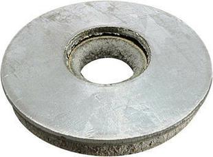 Rondelle en acier galvanisé VULCA diam.ext.16mm ép.2mm pour vis de 6,5mm - 100 pièces boîte de 100 pièces - Gedimat.fr