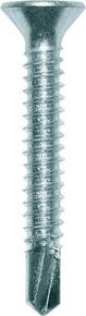 Vis autoperceuse en acier crémenté zingué PERFIX tête fraisée empreinte Phillips 3 diam.6,3mm long.38mm - 250 pièces - Gedimat.fr