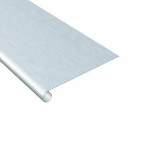 Bande de doublis en zinc naturel ép.0,65mm long.2m développé 16,6cm - Gedimat.fr