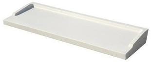 Appui de fenêtre en béton polymère REXLAN R270 finition carrée coloris blanc littoral prof.27cm long.1,70m - Gedimat.fr