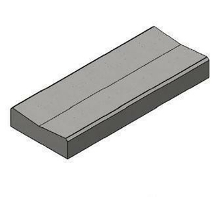 caniveau b ton cc1 classe t coloris gris. Black Bedroom Furniture Sets. Home Design Ideas