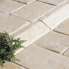 Bordurette CASTELLANE en pierre reconstituée ép.16cm haut.12cm long.50cm coloris Ardèche - Gedimat.fr