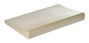 Margelle galbée droite en béton ESPACE ép.3,4cm larg.32,2cm long.50cm coloris Lubéron - Gedimat.fr