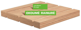 Contreplaqué rainuré 2 faces tout Okoumé CTBX ép.15mm larg.1,207mm long.2,50m - Gedimat.fr