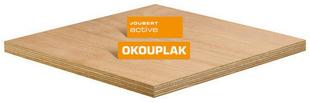 Contreplaqué tout Okoumé OKOUPLAK ép.40mm larg.1,22m long.2,50m - Gedimat.fr