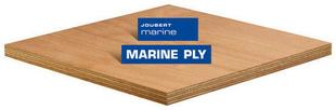Contreplaqué tout Okoumé MARINE PLY ép.18mm larg.1,22m long.2,50m - Gedimat.fr