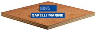 Contreplaqué Faces Sapelli II/III MARINE ép.4 larg.1,53m long.2,50m - Gedimat.fr