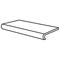 Nez de marche carrelage pour sol en grès cérame émaillé NEOSTONE larg.16,5cm long.30cm coloris grigio - Gedimat.fr