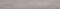 Plinthe carrelage pour sol en grès cérame décoré ULTRA larg.8,5cm long.60cm coloris grey silver - Gedimat.fr